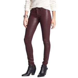 Articles of Society Coated Mya Skinny Jeans